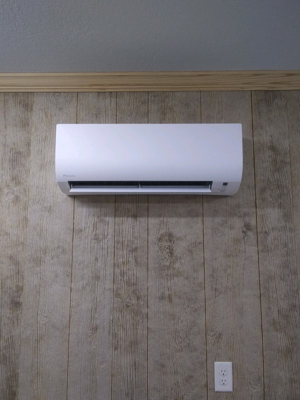 High-Efficiency Ductless Air Conditioner Installation