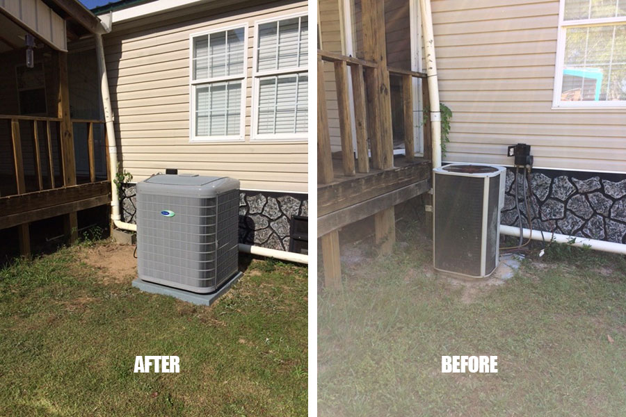 HVAC System Replacement Clarksville, FL